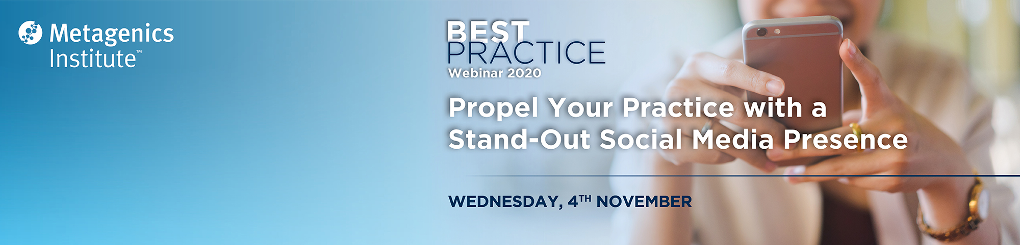 Best Practice Webinar: Propel Your Practice with a Stand-Out Social Media Presence