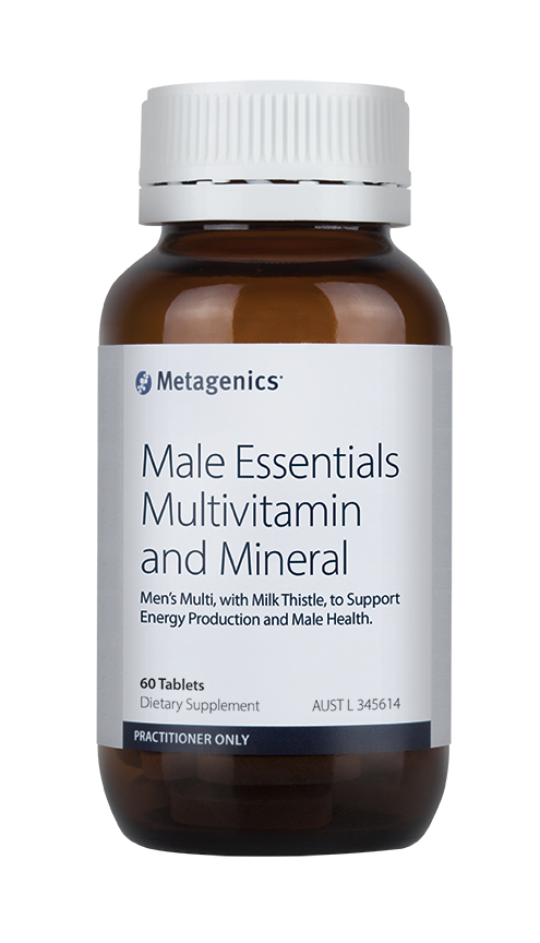MEN'S MULTI WITH MODUCARETM PHYTOSTEROL COMPLEX AND MILK THISTLE.